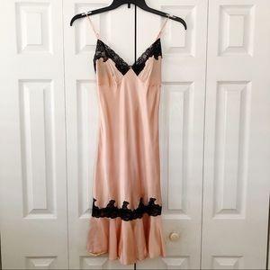 Victoria's Secret Pink Silk Slip Sz XS